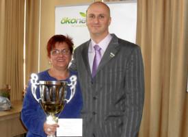 Mészáros Éva az október havi hálózatépítő verseny győztese a Molnár Ágban!