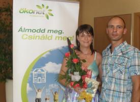 Monostori Szilvia és Finta András júliusban regisztráltak!
