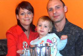 Egy szegedi fiatal anyuka sikerei - Monostori Szilvia a Molnár-ágból