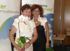 Hódiné Manyika a vezetők csapatában – szponzori köszöntő a Molnár-ágról