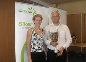 Ismét a Csuka házaspáré a kupa a Molnár-ágban!
