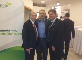 Az első, új céges versenyt nyerő: dr. Paróczai Dezső