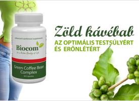 Zöld kávébabbal - az optimális testsúlyért és erőnlétért