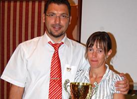 Eberhardt Hajni versenygyőzelme