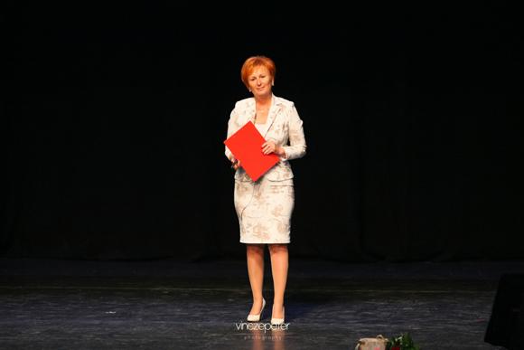 Czentlaki Beatrix családját és közel 60 ezer pontos ágát is képviselte a színpadon