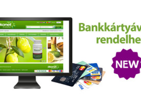 Bankkártyával is rendelhető termékek