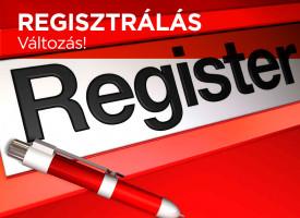 Regisztrálás csak a magyar partnercég termékeivel!