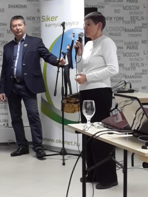 Gutemáné dr. Némeczki Margit is elégedett a termékkel