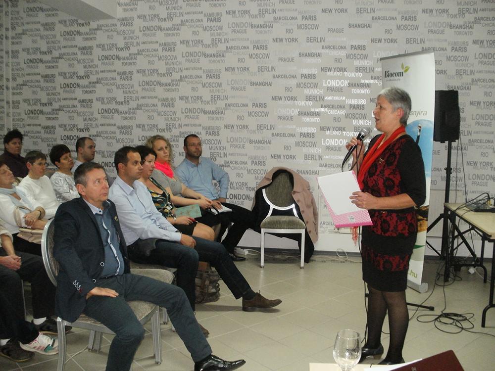 Gazdag Katalin, a debreceni központú ág vezetője fogta össze a rendezvényt