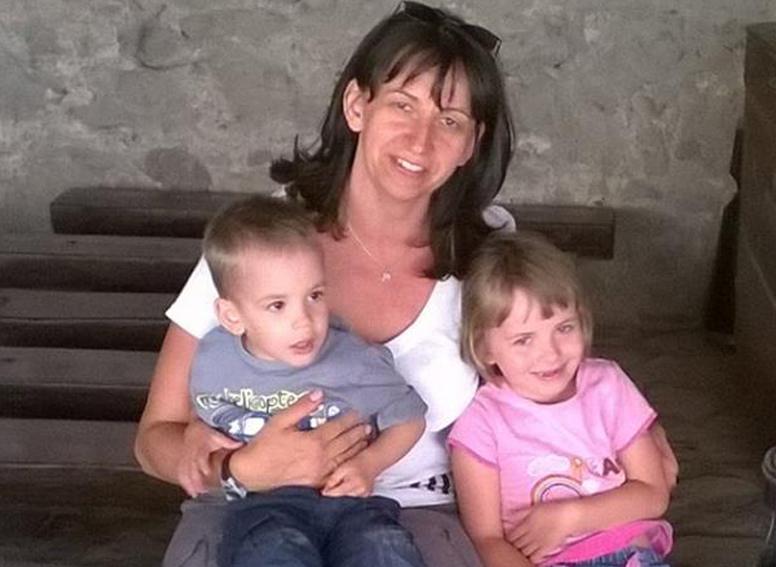 Egy egészségtől ragyogó család