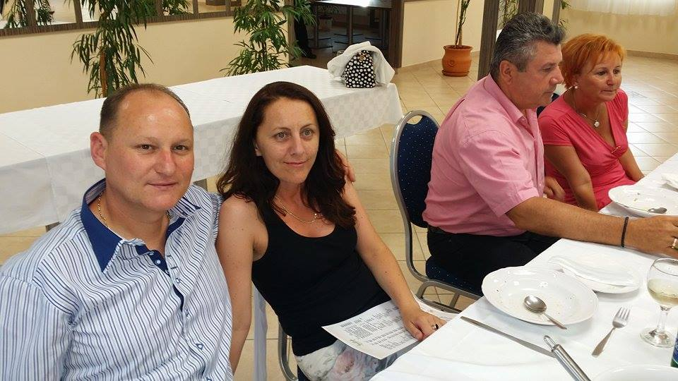 Az ágvezető házaspárral ebédelni is nagy kitüntetés, a vezetővé válás útján