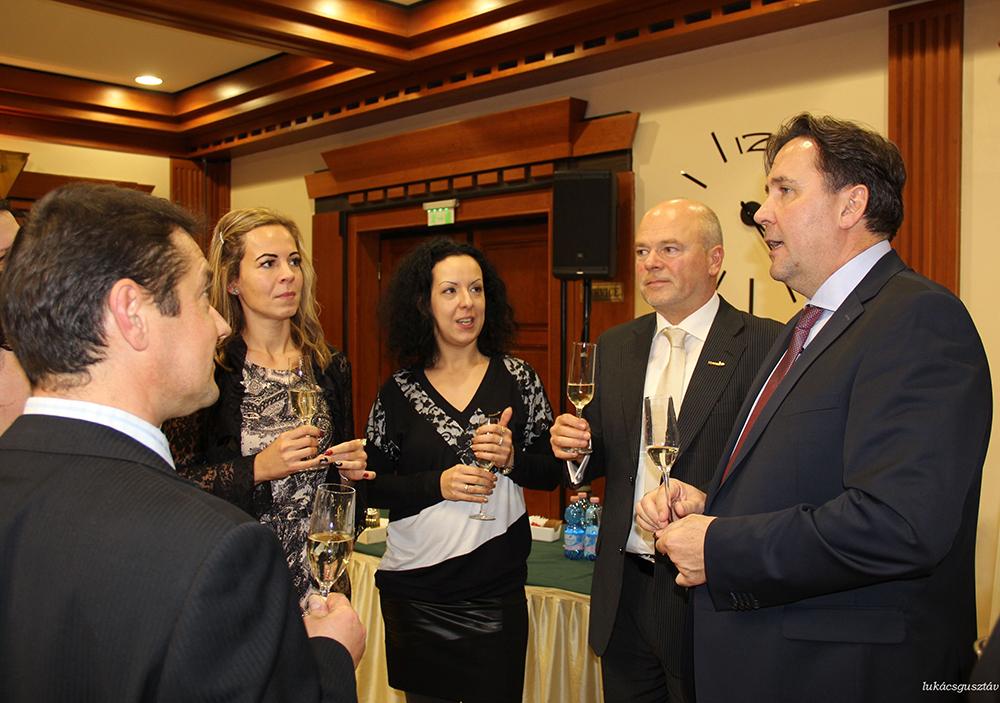 Kovács Zoltán hálózatalapító is személyesen gratulált az ágnak a sikerekhez