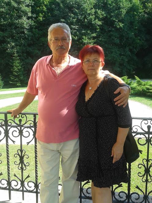 Szintén a parádsasvári vezetőképzőn Gyuri és felesége: mindketten HV-k...