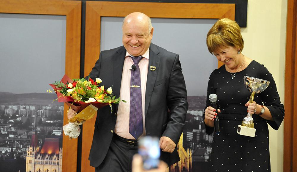 Méltán Kapott elismerést Lőrincz Marika is!