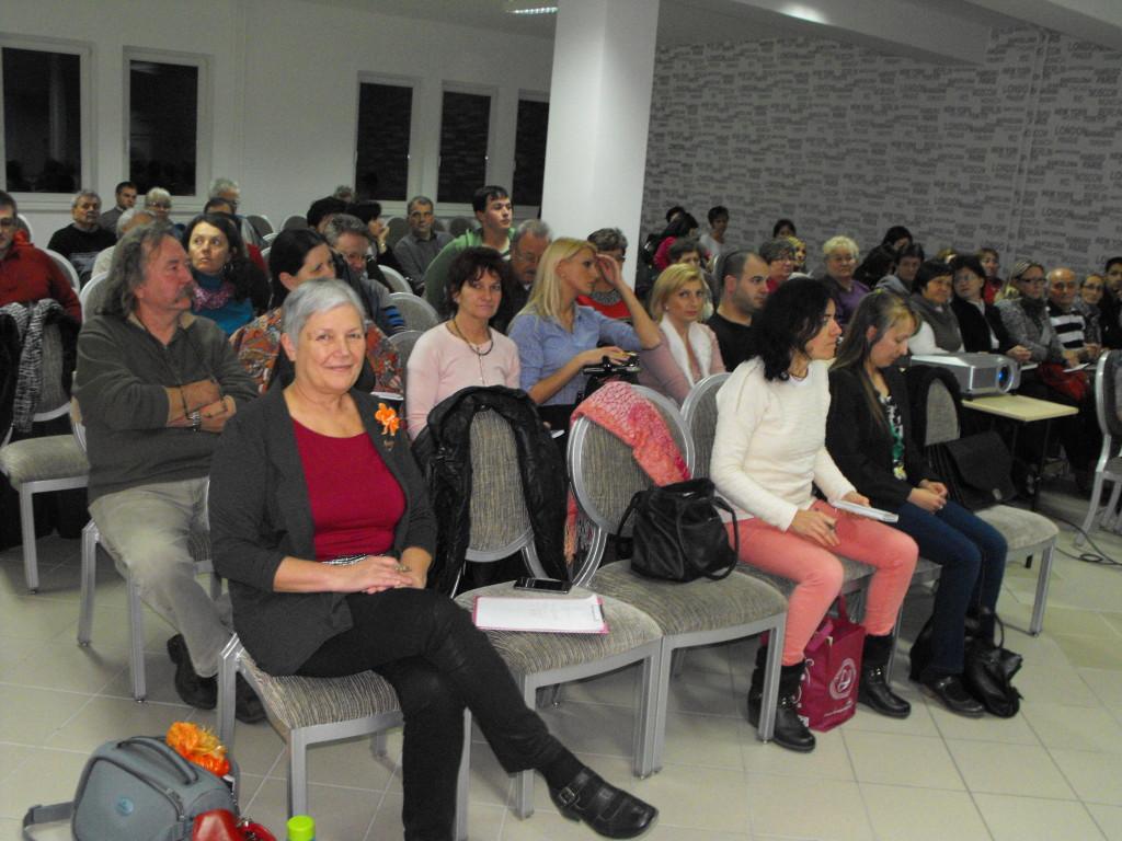 Ezúttal is sokan érdeklődtek Debrecenben a Biocom iránt. (Sokat tettek érte az első sorban ülő vezetők is!)
