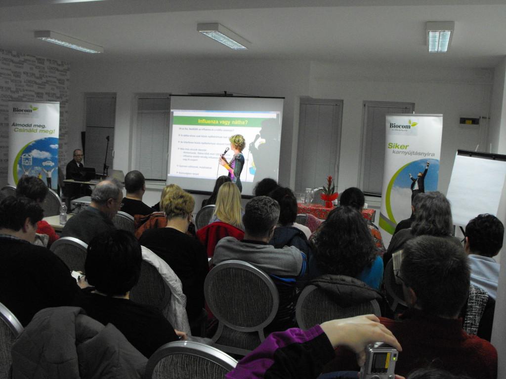 Dr. Kodori Judit közérthetően ajánlotta hallgatósága figyelmébe a biztonságos, hatékony Biocom termékeket