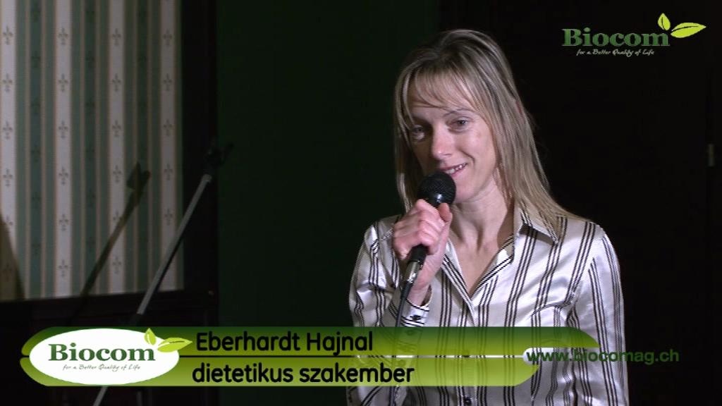 Eberhardt Hajnal dietetikus, aki egyben kiváló hálózatvezető is