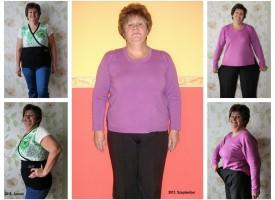 17 kiló elhagyta, s egyre jobban érzi magát: igazi példa Gara Márti