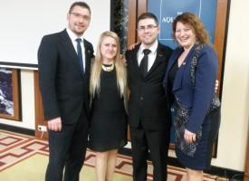 A március hálózatépítője új vezetőket avatott – Kis Gergely már Ezüst HV Felvidéken