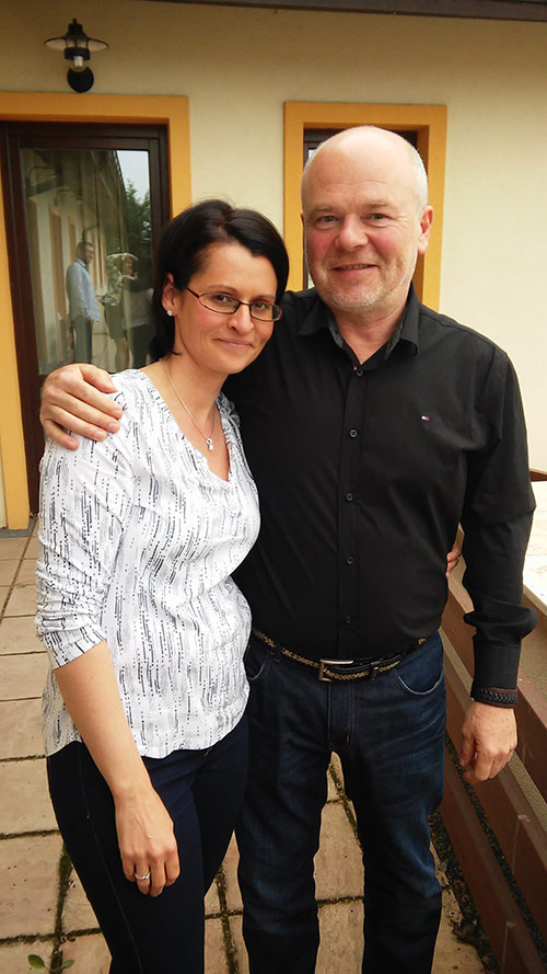 Krigel Zsuzsi és Kónya György - a szervezésből rendszeresen kiveszik a részüket