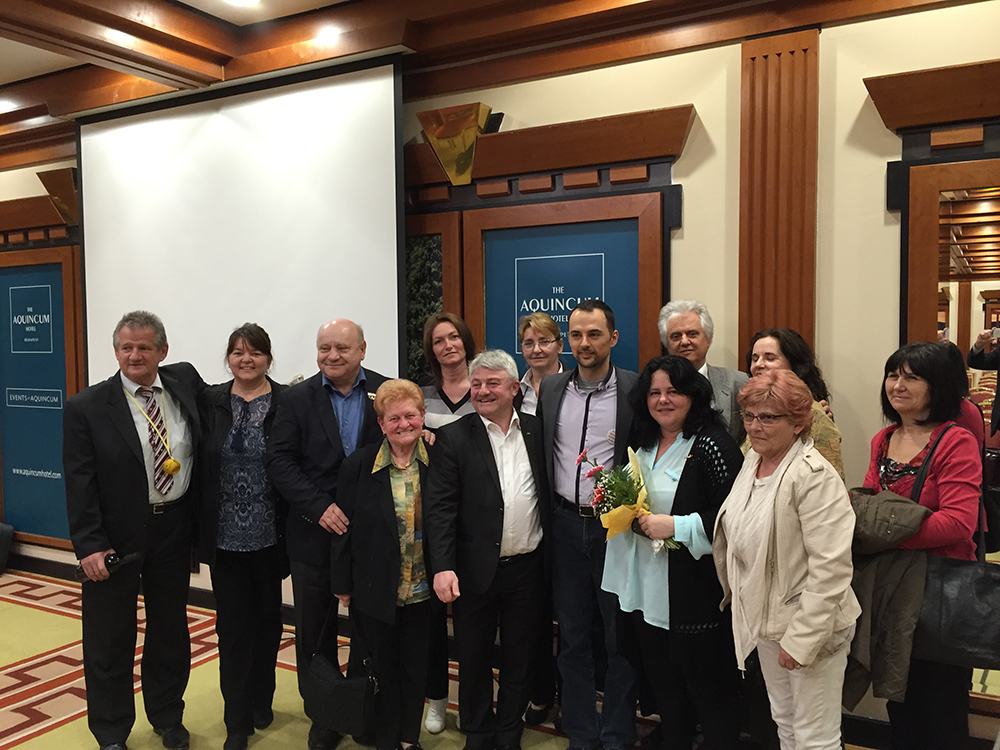 Kalapáti Ibolya nemzetközi csapatának tagjai Ausztriából és Szerbiából is itt voltak