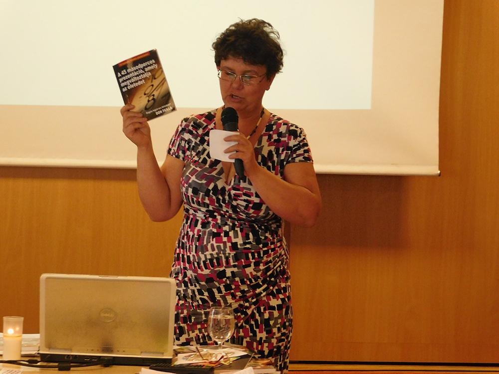 Az önképzésről is szólt Olasz Ildikó