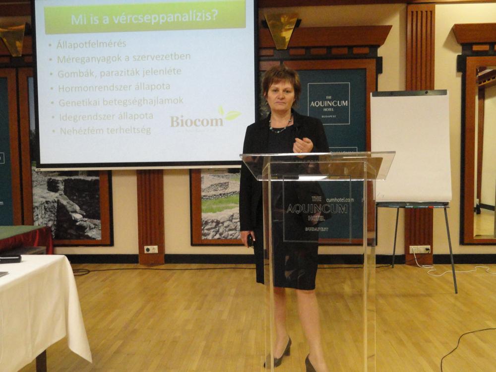 Egészségjavítás Biocom termékekkel – 'Dr. Korcsik Erika előadásában
