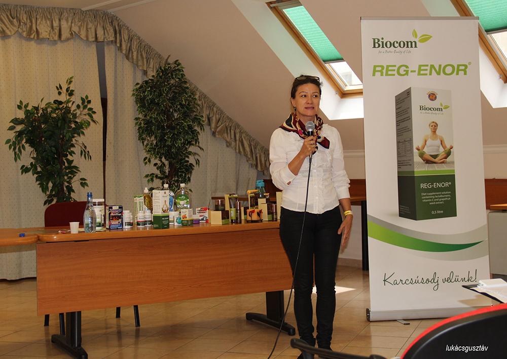 Gödriné Balla Judit a Botanifique kozmetikumainkról szólt, szakértőként