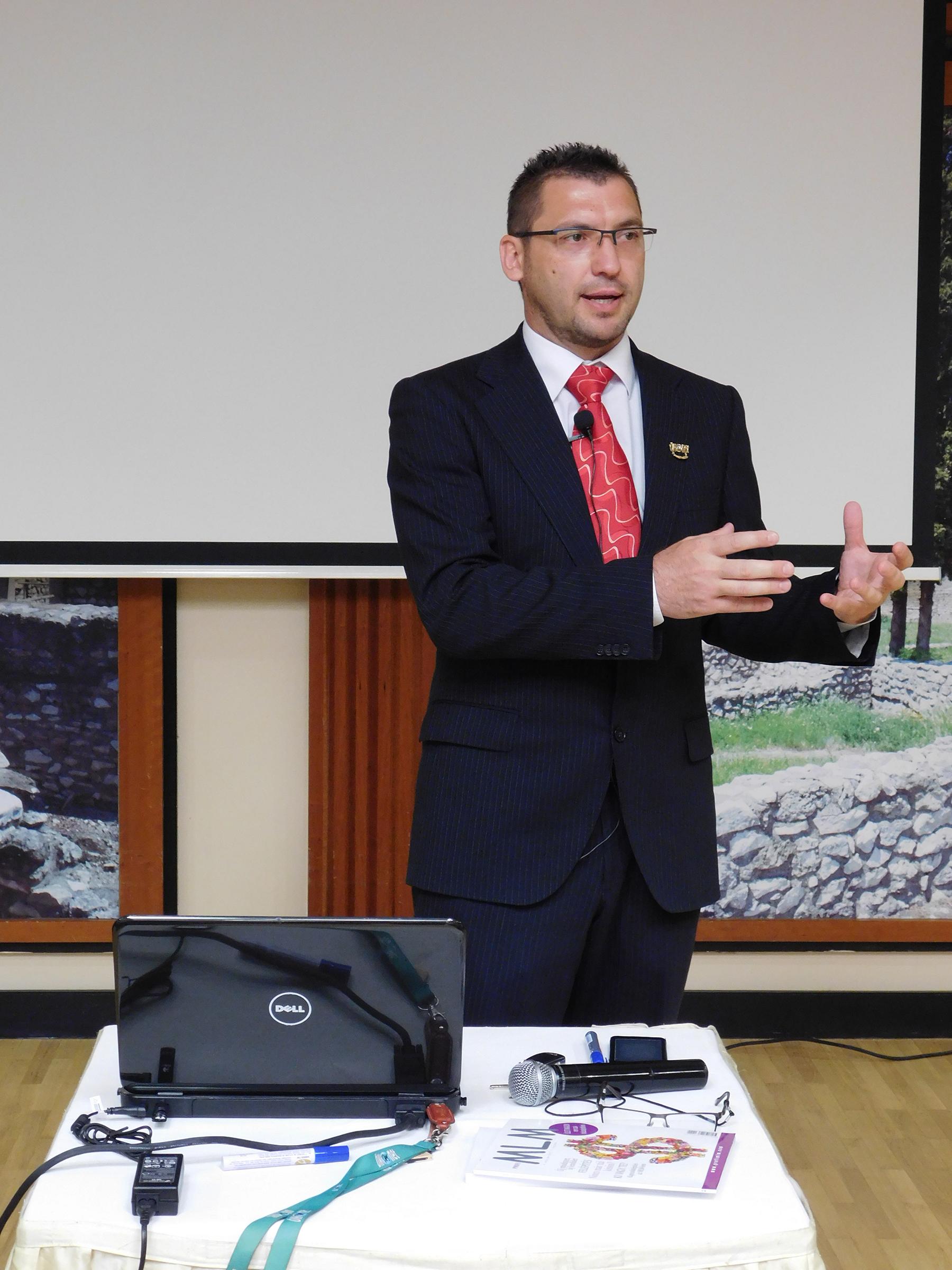 Vass Oszkár ágvezető a vállalkozói gondolkodásról szólt, a Biocom Életmódprogramhoz kapcsolódva