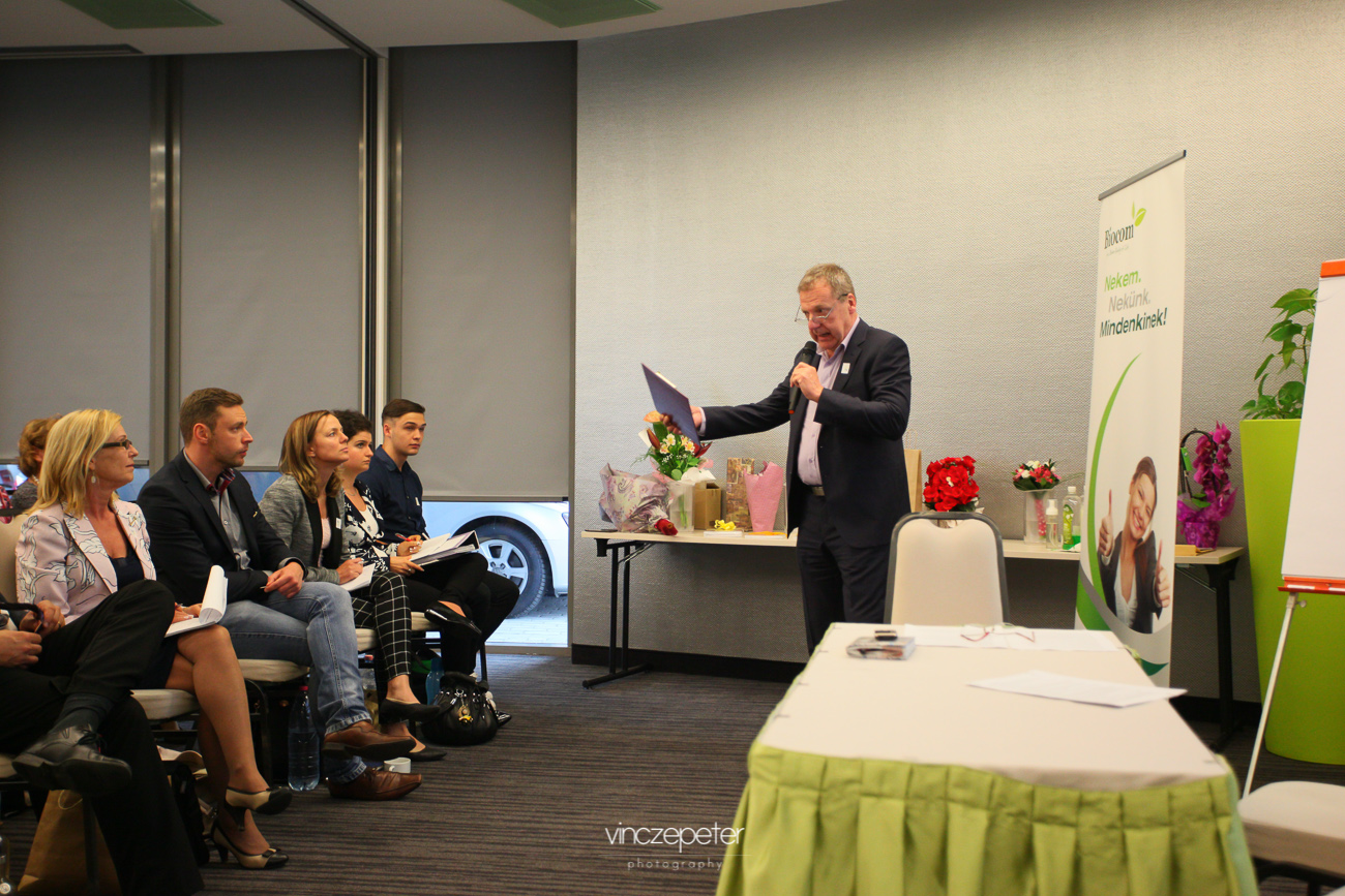 Kaszás Gábor az internetes marketing előnyeit ecsetelte