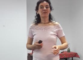 Allergiáról egyszerűen, érthetően – egy újabb útmutató debreceni előadás, Kádárné Julikától