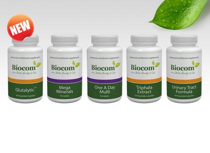 Öt új termék, öt kulcsszóra: glutén, emésztés, húgyutak, vitaminok,  ásványok