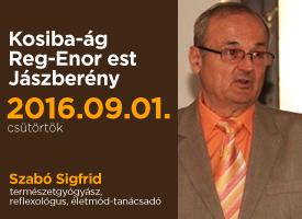 Ételkóstolóval egybekötött Reg-Enor est Jászberényben, szeptember 1-én