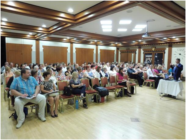 Ezúttal is sokakat vonzott Aquincum Hotelbe a trénig – és például Ferenczy László előadása