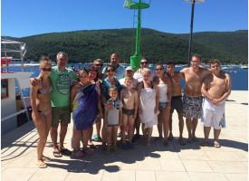 Hálózatvezetőkkel, Horvátországban – a Pálfi Katalin - Kis Gergely csapat még jobban összekovácsolódott a nyaraláson