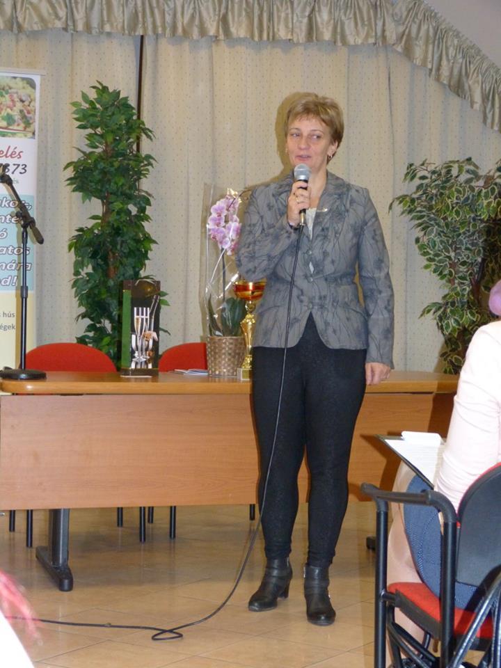 Tövisné Venczel Erika szépen oldotta meg a Biocom Életmódprogram bemutatását