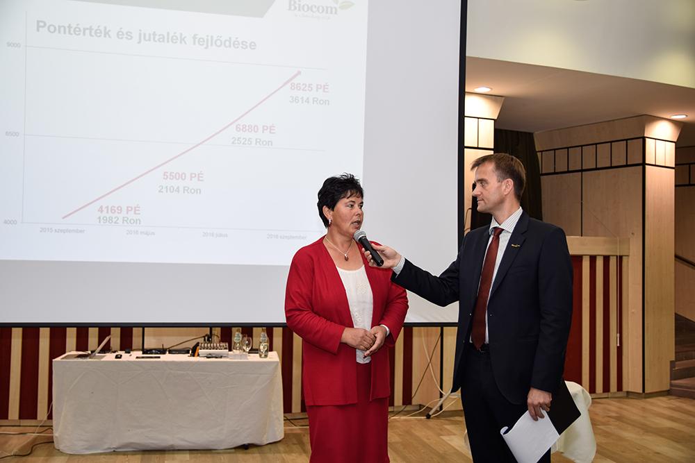 Kovács Erzsébet is igazán jó példa, a HV szívesen osztotta meg sikertörténetét a hallgatósággal