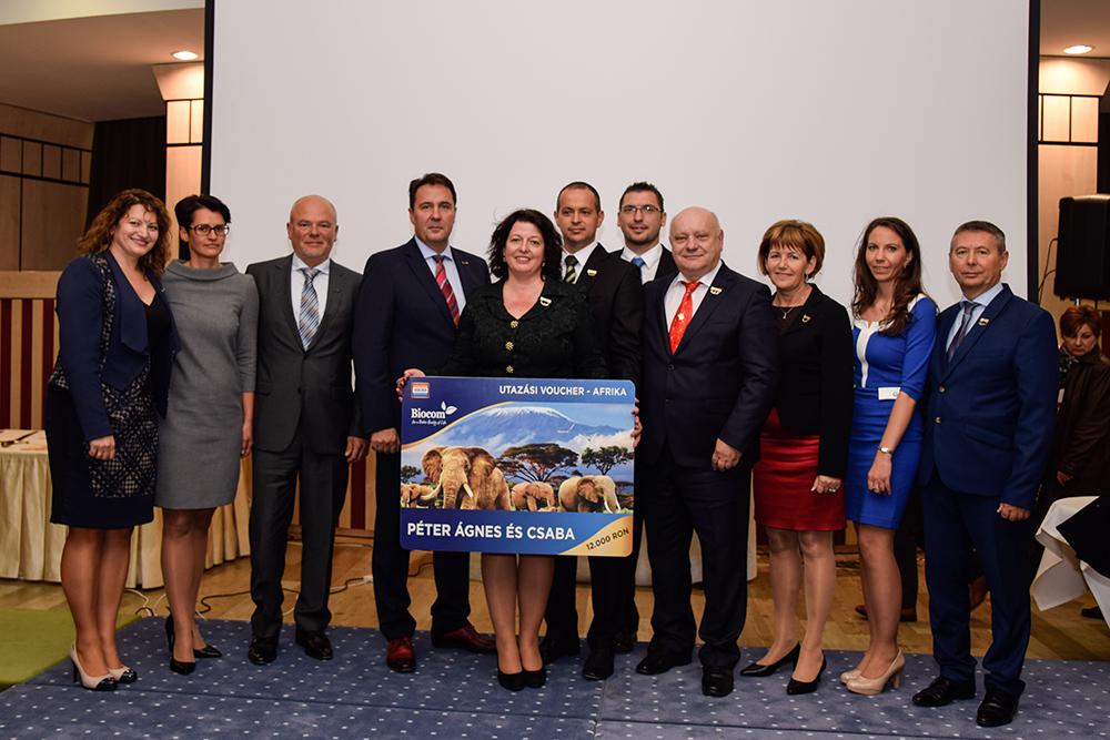 Az erdélyi sikerpáros, az óriási és fantasztikus csapatot építő és vezető Péter-házaspár a magyarországi felső vonalakkal, s csúcsvezetéssel