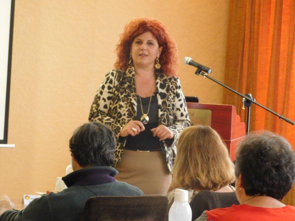 A vezetői gondolkodásról tartott előadást az ágvezető, Molnárné Andrea