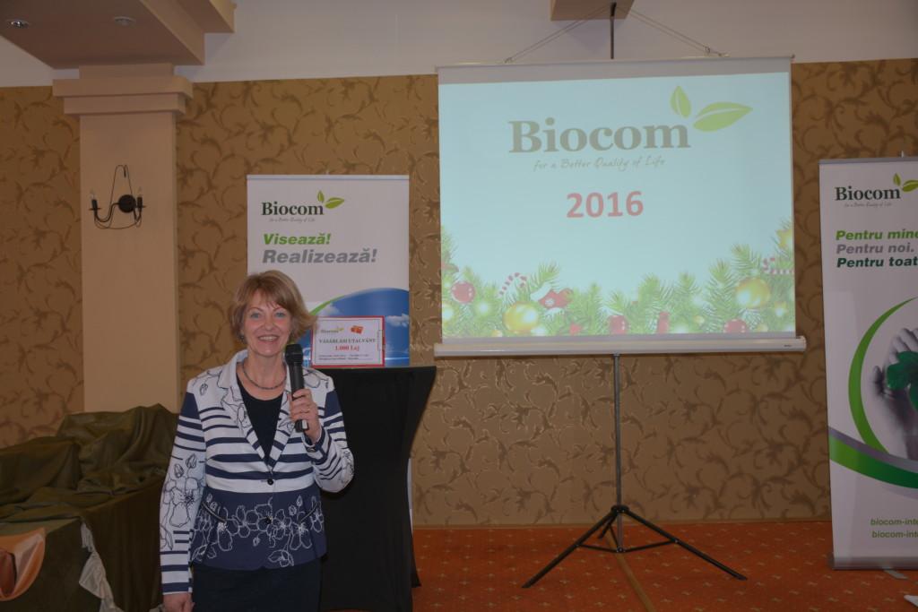 Borbáth Edit, a Biocom hálózat romániai partnercégének a vezetője