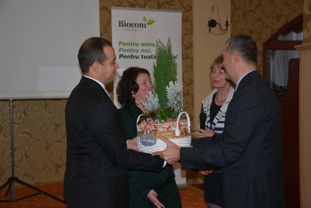 Ágvezetők és cégvezetők: a Péter-házaspár (Ágnes és Csaba), valamint a romániai partnercég vezetésének képviseletében Borbáth Edit és Szakács Levente