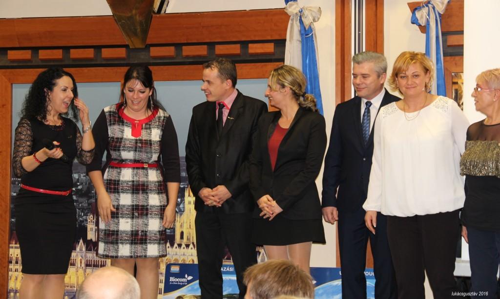 Ujvári Zsuzsi visszapillantása azok társaságában, akik országos elismerést is kaptak az ágból