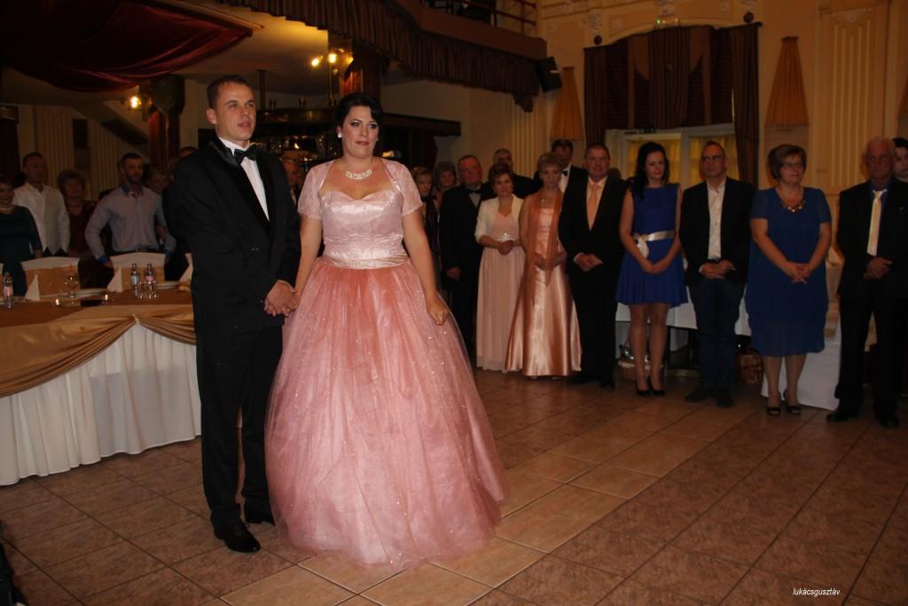 Tasnádiné Szabó Mónika és Tasnádi Zsolt, az ünnepeltek