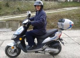 Születésnapos Biocomos - télen-nyáron motoron, 75 évesen is!