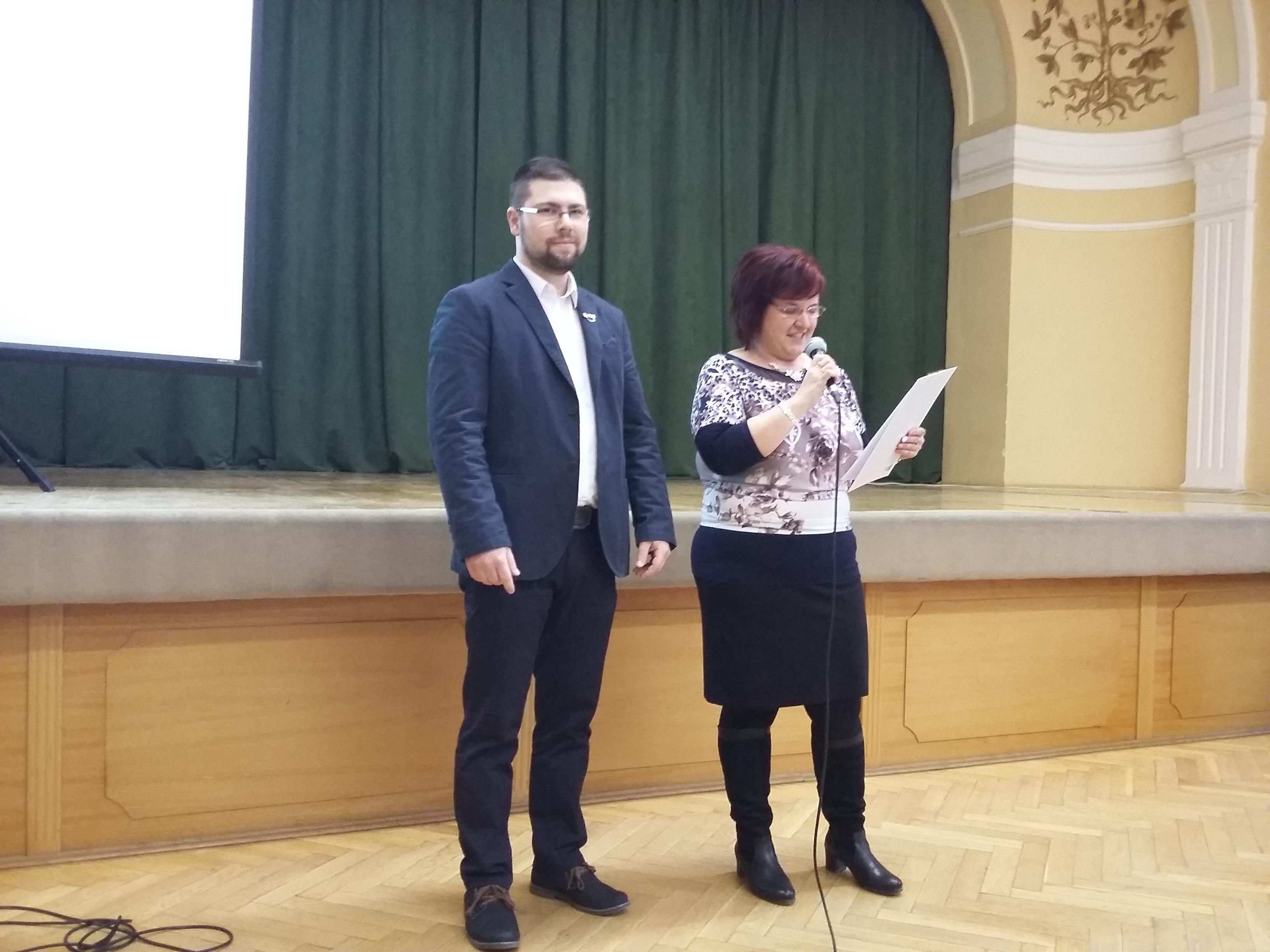 Akik előkészítették (és vezették) az eseményt: Kis Gergely és Czékus Mónika