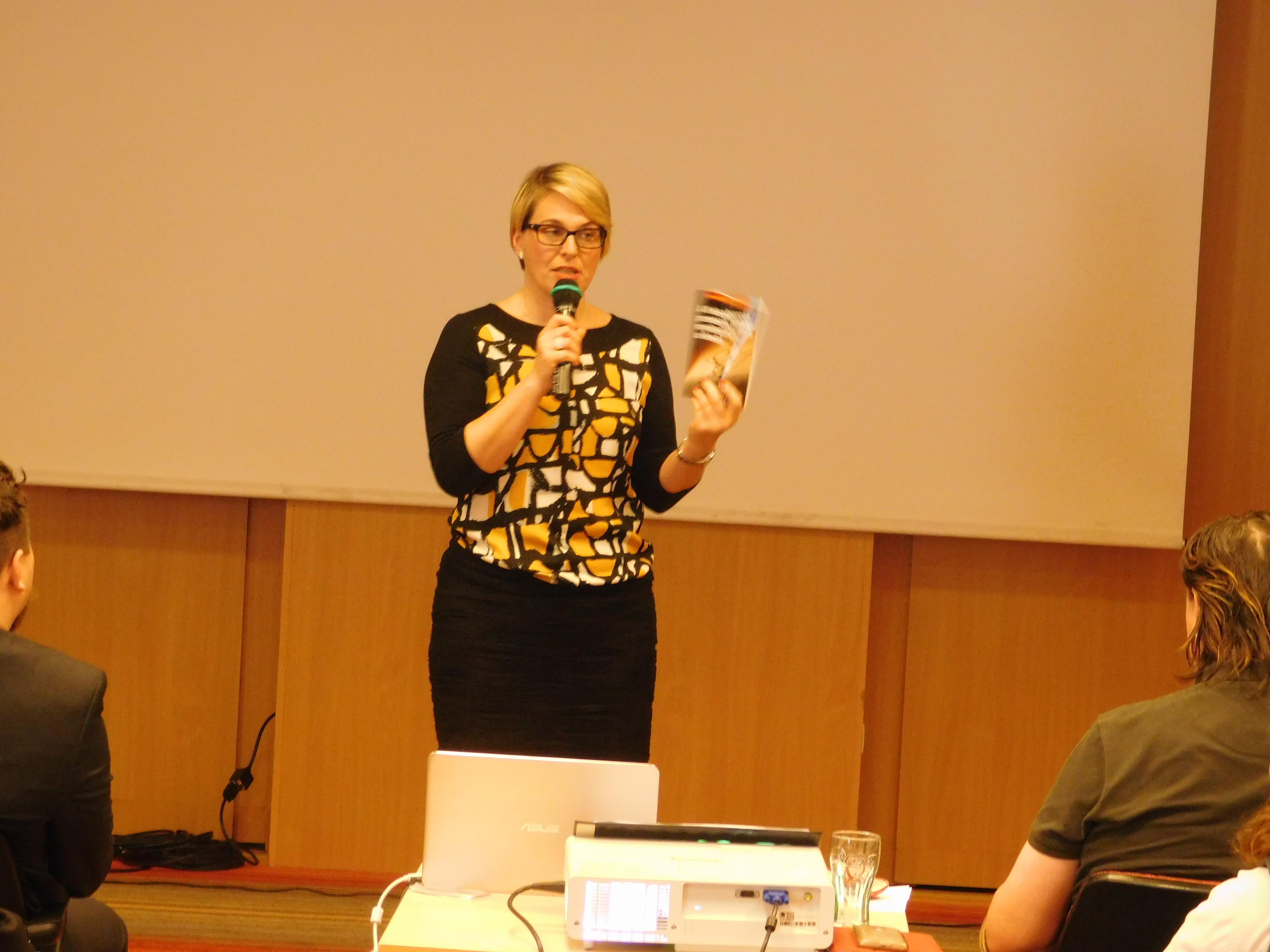 Holman Krisztina az önképzés fontosságáról beszélt