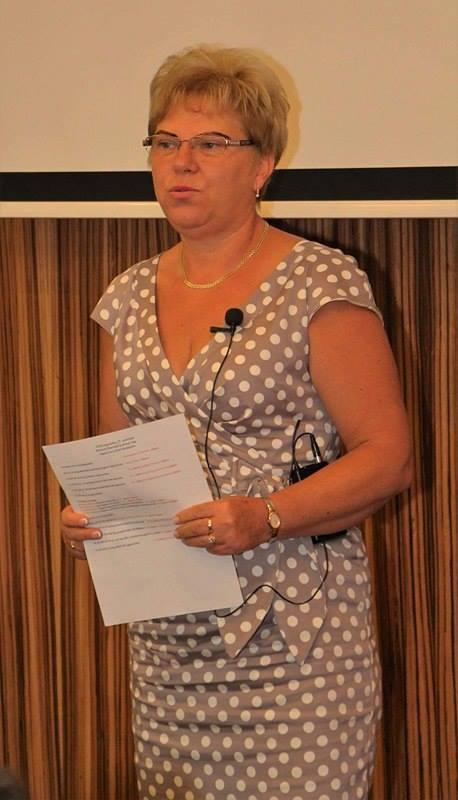 Már a budapesti képzésen, az Aquincum Hotelben is tartott előadást