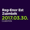 Reg-Enor Est Zsámbékon Szabó Sigfriddel