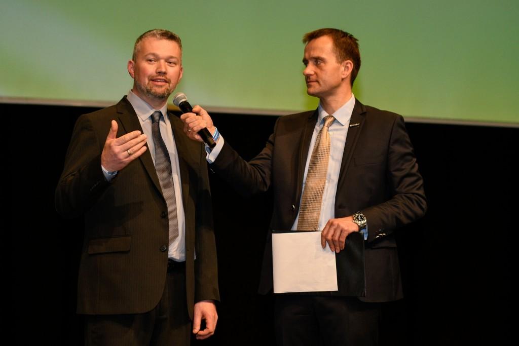 Bánfi Zoltán, az angliai partnercég vezetője nyilatkozik a feltáruló lehetőségekről