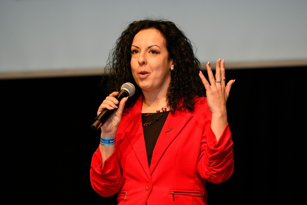 Ujvári Zsuzsi Arany HV, aki az Év Hálózatépítője is lett 2016-ban